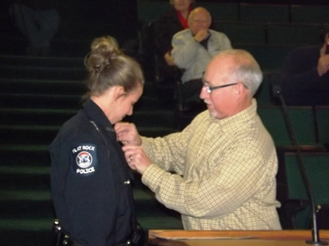 badge pinning